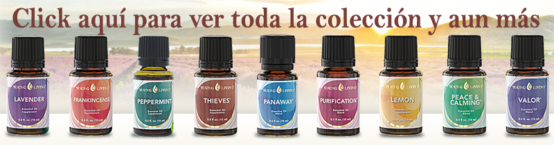 Collecion completa de Aceites Esenciales  Yound Living