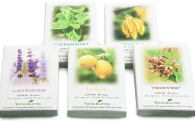 Young Living Sample Packs Aceites Esenciales