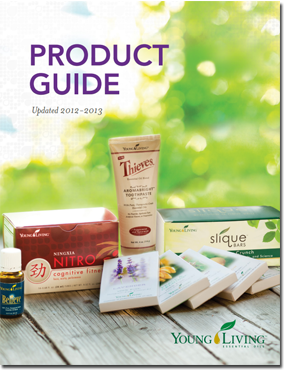 Guia de productos Young Living en Ingles